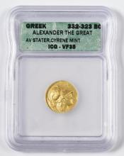 Alexander the Great AV Stater Coin, Cyrene Mint