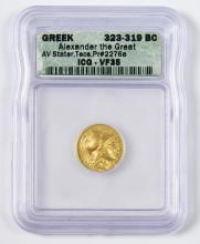 Alexander the Great AV Stater, Teos Mint