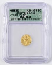 Achaemenid Kings Gold AV Stater, Daric, Persia