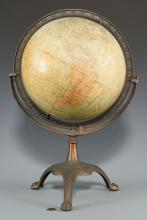 G. A. Mullin Co. Terrestrial  Globe on Stand