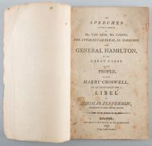 Pamphlet from Jefferson Libel Case, 1804
