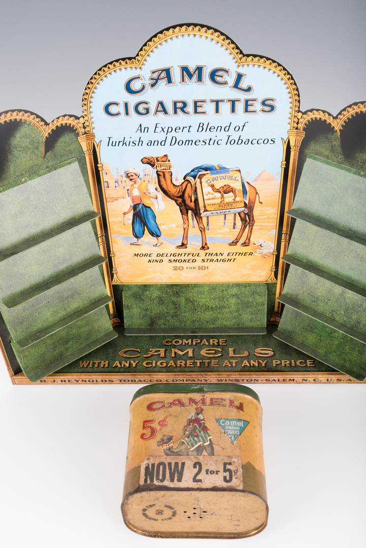 5 Tobacco Advertising Items, inc  Camel