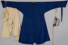 Qing Silk Robe w/ Undergarments