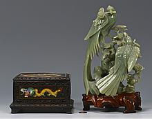 Jade Bird Group & Dragon Box