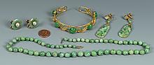 Grouping of Jade Jewelry, 4 items