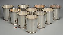 10 Kirk Sterling Julep Cups