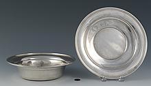 2 pcs Sterling Silver Hollowware