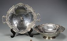 Gorham Sterling Footed Bowl & Tray