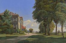 """J.M. Dunant-Vallier, """"Chateau de Malagny"""""""