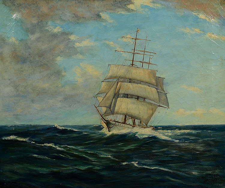 Otto Kurth, Marine Painting
