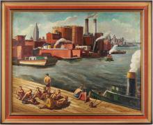 Joseph Cain O/C, New York Harbor