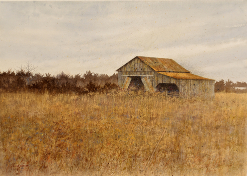 Pauline Wallen Prize Winning Landscape Watercolor