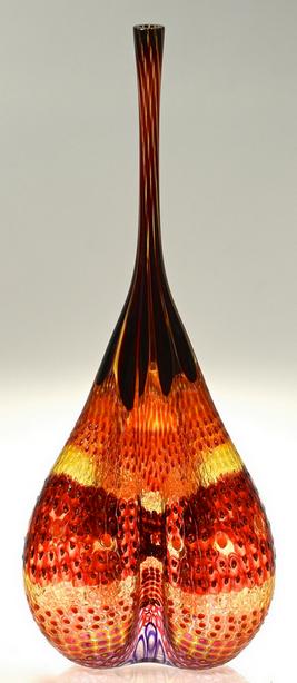 Stephen Powell Large Glass Vase