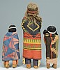 Grouping of 4 Skookum Dolls