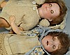 3 small dolls including Googly Eye, Rader