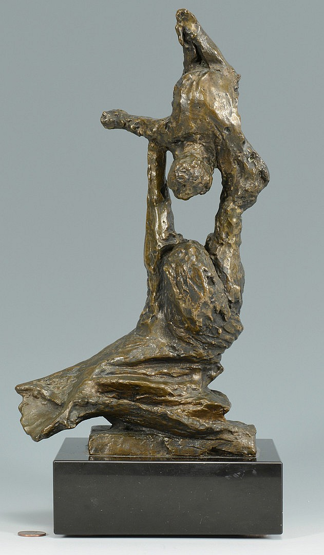 Bronze Sculpture, Mother and Child