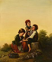 C. Beeker genre scene with children