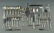 Assorted sterling flatware inc. Etruscan