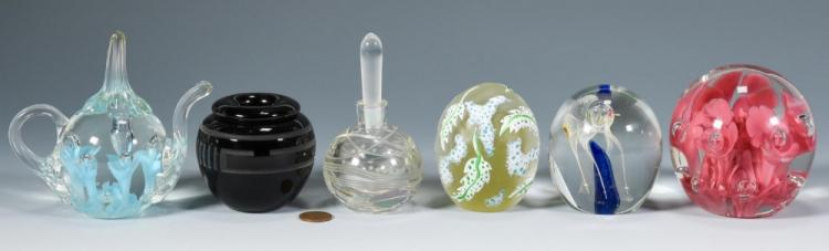 Group of Contemporary Art Glass, incl. St. Clair