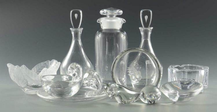 Grouping of Art Glass, 11 pieces