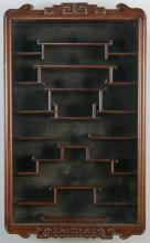 Chinese Rosewood Snuff Bottle Display Case