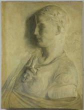 O/C Portrait of Roman Statesman or Ruler