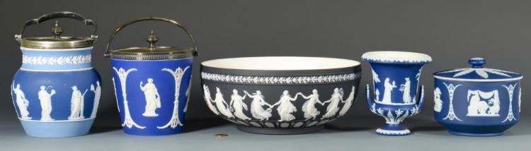 5 items Wedgwood Jasperware