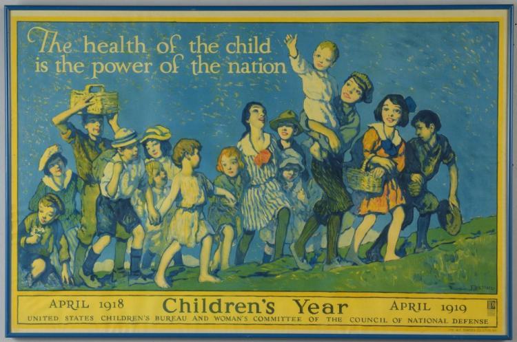 WWI Children's Health Poster