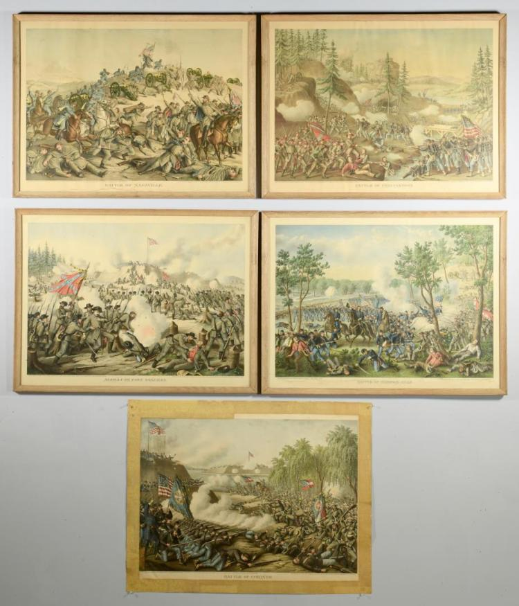 Civil War Chromolithographs, Kurz Allison