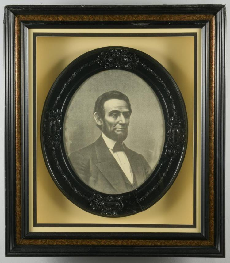 Victorian Abraham Lincoln framed print