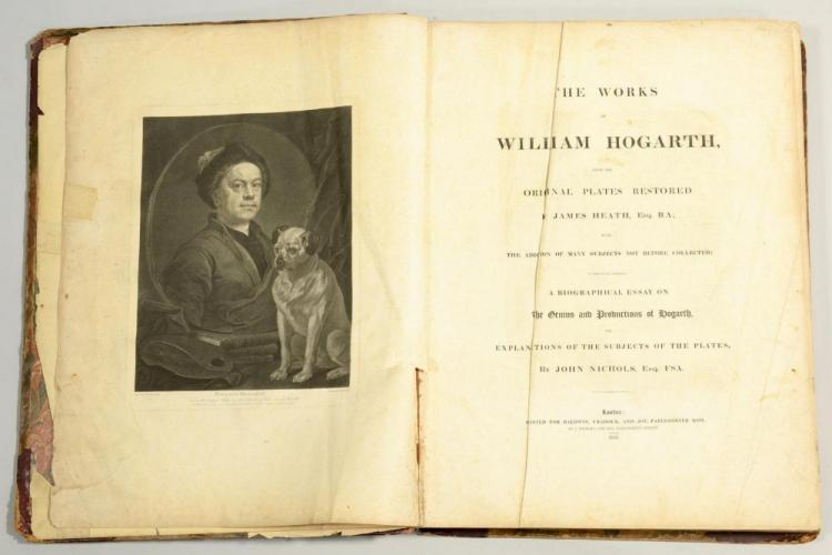 William Hogarth Elephant Folio