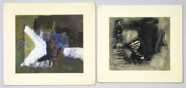 2 Frank Hodgkinson Works on Paper