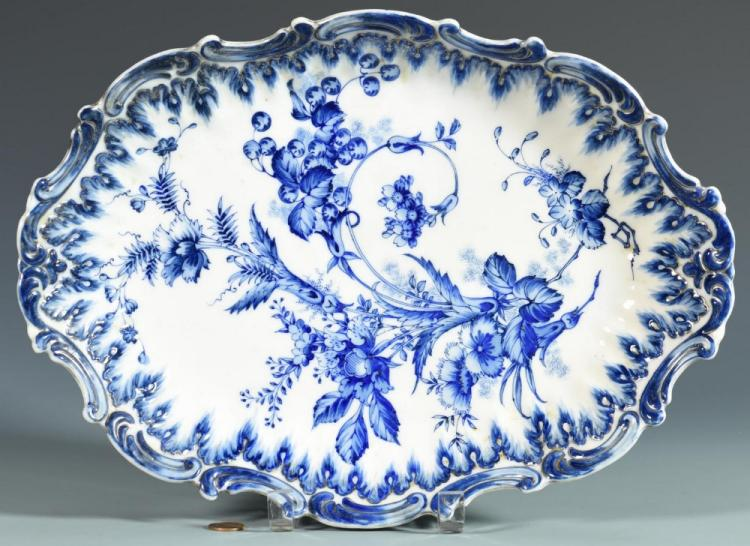Blue/White Chinoiserie Dish