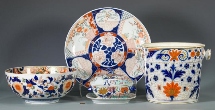 4 Asian Themed Porcelain Items