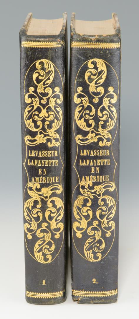 Levasseur, Lafayette Amérique 1829 with MAP.