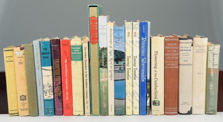 Lot of 22 Miscellaneous Southern Books inc/TN