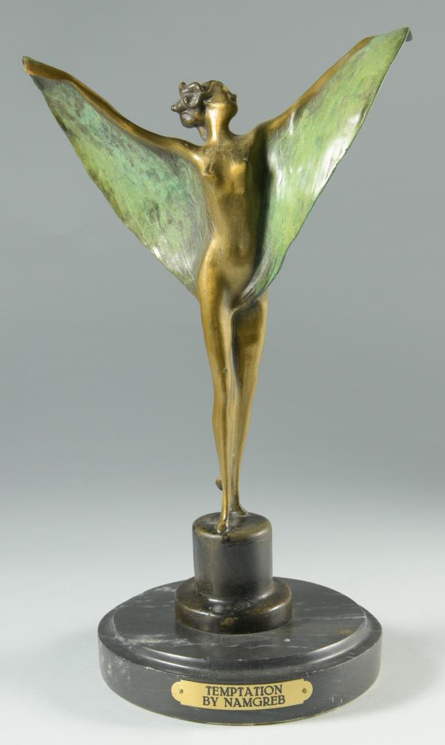 Bronze Sculpture, After Bergman