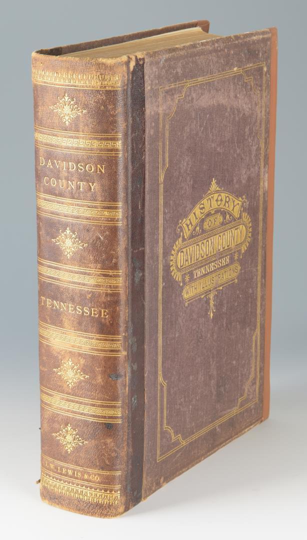 Clayton History Davidson County, Nashville 1880