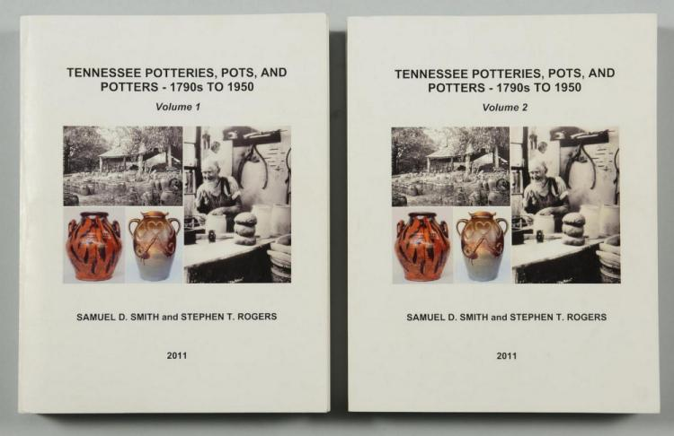 Tennessee Potteries, Pots and Potters, Vols. I & II