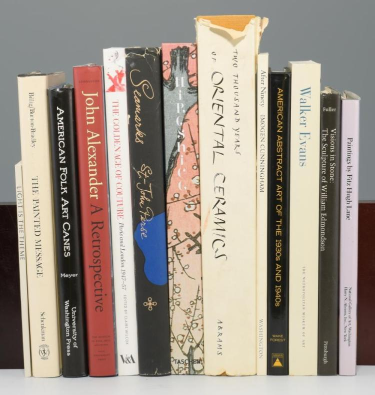 Lot of 13 Contemporary Art Books