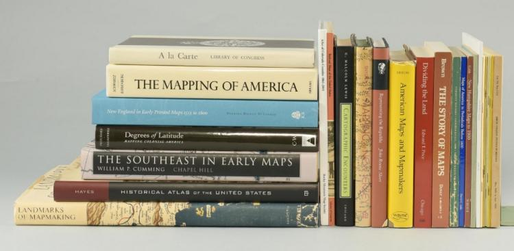 22 Map reference book: lot #2: Primarily United States.