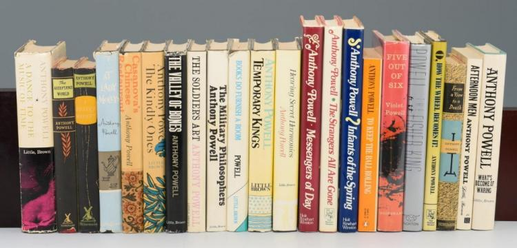 Lot of 22 Books by Anthony Powell