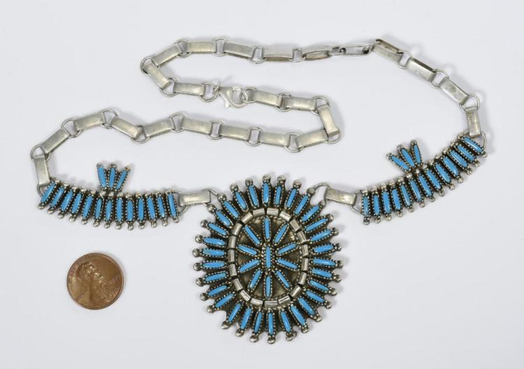 Benson Yazzie Navajo Necklace