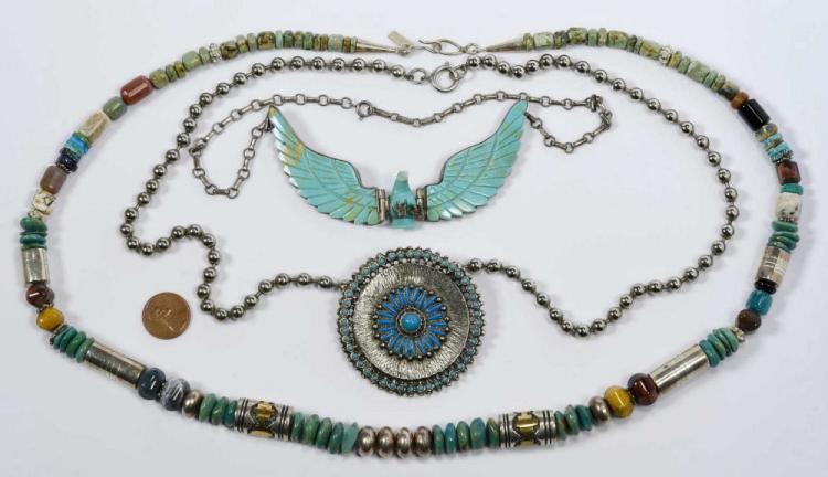 3 Southwest Necklaces inc. Singer