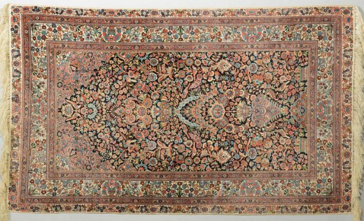Silk Hereke Carpet, Tree of Life