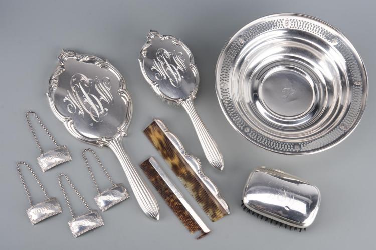 Assd. Sterling Hollowware inc. Vanity