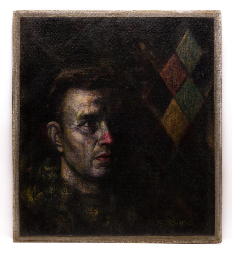 Gaspere Ruffolo, O/B, Portrait of Man