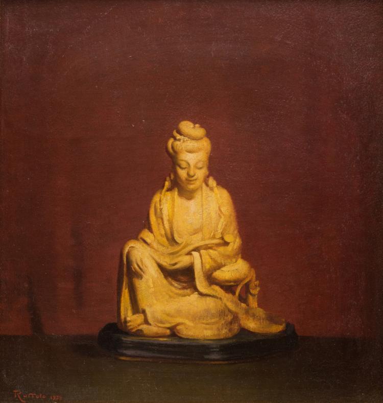 Gaspere Ruffolo O/B Asian Quan Yin Still Life