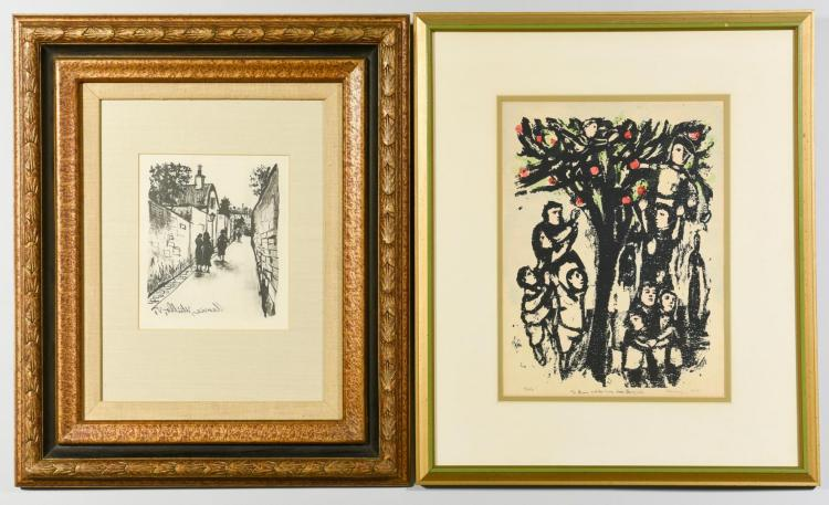 Pr. 20th Century Prints, Kleinholz & Utrillo