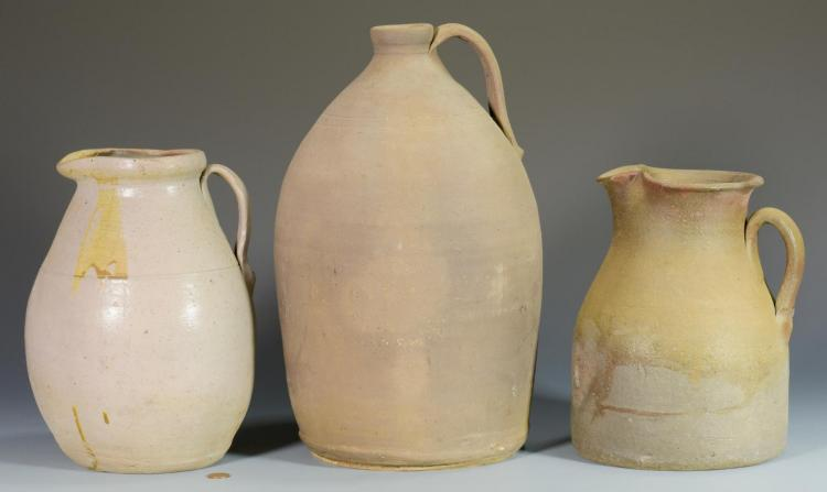 3 Middle TN Stoneware Pottery Items